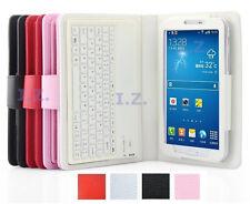 """PU Leather Bluetooth Keyboard Case for Samsung Galaxy Tab 4 7""""/10.1""""SM-T230/T530"""