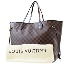 LOUIS VUITTON Never full GM Shoulder Bag Damier Leather N51106 Auth #5418 W