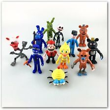 12pcs/lot Five Nights At Freddy's Juguetes 4  Foxy Chica Bonnie Freddy