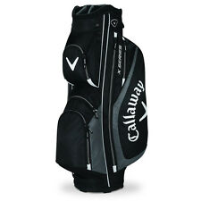 Callaway X Series Cart Trolley Golf Bag / 14-Way Divider - Black / Silver