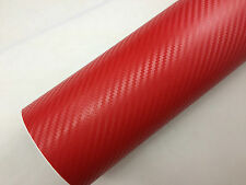 3D Carbon Fiber Vinyl Car Wrap Sheet Roll Film Sticker Decal All Size/Colours UK