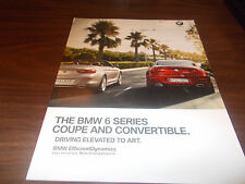 2011 BMW 6-Series Coupe and Convertible 70-page Sales Catalog
