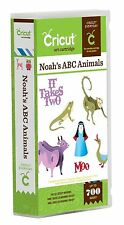 CRICUT *NOAH'S ABC ANIMALS* CARTRIDGE *3D ZOO ARK FARM ANIMALS, FULL FONT* NEW