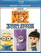 Despicable Me 2: 3 Mini-Movie Collection (Blu-ray + Digital) NEW/SEALED