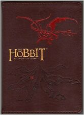 THE HOBBIT ~ AN UNEXPECTED JOURNEY LEATHER JOURNAL w, SMAUG the DRAGON