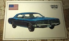 FORD LTD  - Famous Cars by Top Sellers Ltd UK Trade Card
