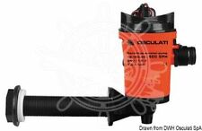 Osculati Europump 90 Degrees Bulkhead Pump Fish Tank Aeration