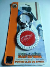 Detroit Red Wings Round Key Ring  NEW