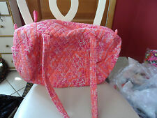 Vera bradley small duffel bag in retired Hope Toile Pattern