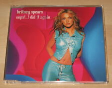 Britney Spears - Oops! ... I Did It Again (3 Track CD Single 2000). Ex Cond