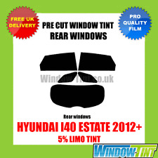 HYUNDAI I40 ESTATE 2012+ 5% LIMO REAR PRE CUT WINDOW TINT