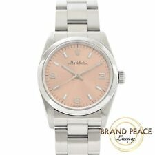 Rolex Oyster Perpetual Boys pink dial 67480 T serial # Free Shipping