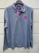 Polo SERGE BLANCO SB Quinze 15 gris rose L
