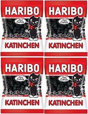 4 x HARIBO - Katinchen Liquorice - 4 x 200 gr - German Product - FREE SHIPPING
