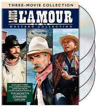 LOUIS L'AMOUR WESTERN COLLECTION New 3 DVD Films
