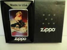 NEW Zippo Gil Elvgren Bear Facts Pin-Up Limited Edition Lighter #25 of 100 Made