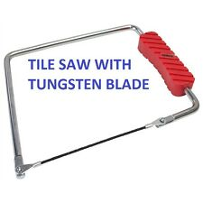 Hand Tile Cutting Saw Ceramic Wall or Floor Tiles Tungsten Rod Saw S4427