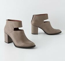 ANTHROPOLOGIE SPACED ANKLE BOOTS RACHEL COMEY SHOES LIGHT GRAY BOOTIES 9 $448