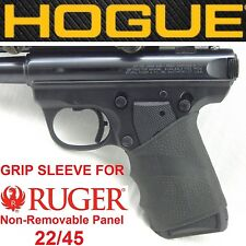 BLACK Hogue Rubber Grip Sleeve for RUGER 22-45 MARK MK II III 2 3 LITE grips