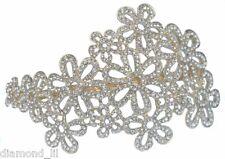 Tono Oro Multi Flor Margarita adornado Hairband Fascinator De La Tiara headress