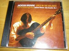 Jackson Browne Lives In The Balance US Promo CD Single with Promo Cover