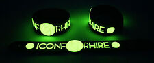 ICON FOR HIRE NEW! Glow in the Dark Rubber Bracelet Wristband Make A Move GG254
