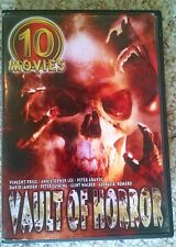 Vault of Horror 10 classic movies; Vincent Price, Christopher Lee, Peter Cushing