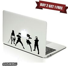 Macbook Air Pro Vinyl Skin Sticker Decal Naruto Shippuden Anime Team 7 m1044