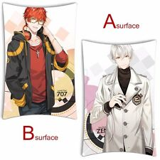 Anime Dakimakura Game Mystic Messenger 707 Luciel Choi Pillow Cushion Cover 2WT