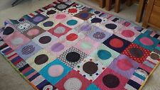 "Quilt ""POLKA DOTS "" SIZE  57""×74"""