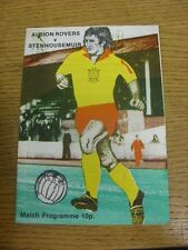 19/11/1977 Albion Rovers v Stenhousemuir  . Condition: We aspire to inspect all