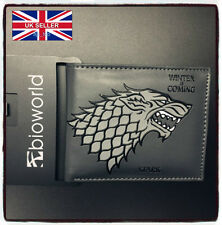 NEW Game of Thrones Direwolf Stark Leather Wallet Brand New Cosplay *UK Stock