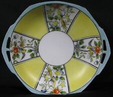 Antique Fancy Bowl Candy Dish Yellow With Bird of Paradise Noritake M