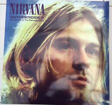 Nirvana ‎–Outcesticide II The Needle & The Damage Done-Clear Vinyl  Rare LP