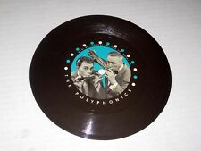 45rpm One Sided THE POLYPHONICS Goodway Printing Co. Philadelphia, PA NM/NM-
