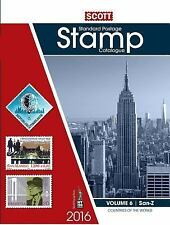2016 Scott Catalogue Volume 6 (Countries San-Z): Standard Postage Stamp Catalog