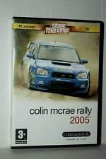 COLIN MCRAE RALLY 2005 GIOCO USATO OTTIMO PC DVD VERSIONE ITALIANA GD1 42508
