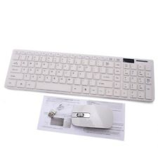 Ultrathin Wireless Optical Keyboard Mouse Set USB Receiver For Computer PC iMac