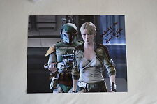 NATHALIE COX signed  Autogramm In Person 20x25 cm STAR WARS Juno Eclipse