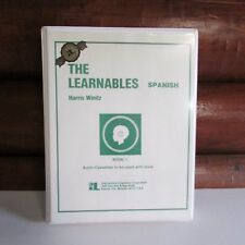The Learnables Spanish Book 1 and 5 Audio Cassettes Homeschool Language H Winitz