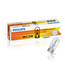 Philips W2.2W 12V 2.2W W2.1x9.5d 10St. Armaturenbeleuchtung Lampe 12960CP