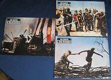 3 AF / lobby cards  Die Rache der Wikinger   Mario Bava    Cameron Mitchell