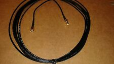 US MADE   50ft  RG-174  SMA Male to SMA Female  (50 ohm)Coax  Cable