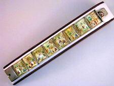 Armband mit Emaille Miniatur Lupen Malerei auf Perlmutt Persien um 1850