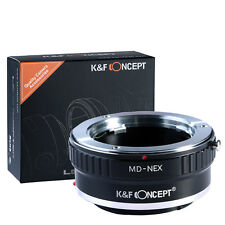 MD NEX Adapter Minolta MD Lens To Sony Alpha NEX-5 7 3 5R 6 VG20 E Mount ILCE