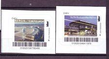 Moderne Privatpost Biber 2 Bahnhöfe in Berlin