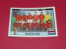 118 NEDERLAND HOLLAND ARGENTINA 78 FOOTBALL PANINI WORLD CUP STORY 1990 SONRIC'S