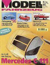 Zeitschrift Modell Fahrzeug 1 96 1996 Kenworth W900SAR Ford Capri Magirus Pluto