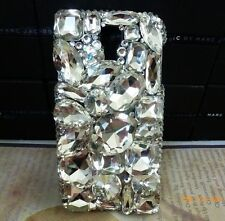 3D Crystal Diamond BLING Hard Case Phone Cover For Samsung Galaxy S3 NEW #W123