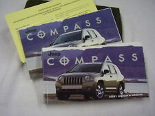 2007  JEEP COMPASS   OWNERS MANUAL SET
